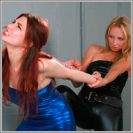 Lara vs Olga - 3 Catfights