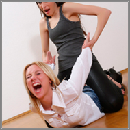 Office girls fight - Olga vs Marta