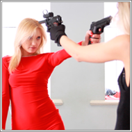 Fantasy Gunbattle - Laura vs Irene - HD