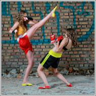 Kickboxing Outdoor - Stella vs Blanca