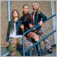 Gangster war - Marta, Olga and Lara - HD