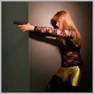 Agent Mia in trouble - HD