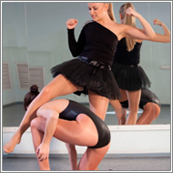 Fight in ballet studio - Jane vs Amanda
