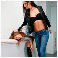 Bad Girls Catfight - Blanca vs Lexxi