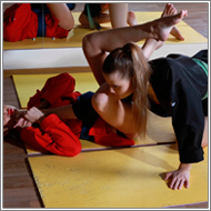 Grappling fight – Elena vs Jillian