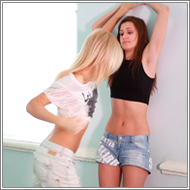 Belly Punching Catfight - Vicky vs Laura - HD