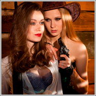 Cowgirls in action - Collection set