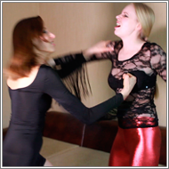 Harsh reality catfight – Marta vs Nastja - HD