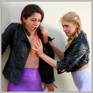 Backyard Catfight – Laura vs Lexxi