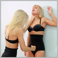 Blondes Catfight - Laura vs Irene - HD