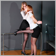 Secretaries Catfight – Vera vs Jillian