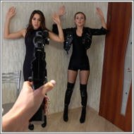 SCR121 - POV shooting Role-Play - Sabrina vs Tess