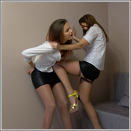 SCR146 - Catfight in skirts - Jillian vs Tess