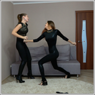 SCR161 - Catfight between spies - Tess vs Jillian